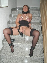 Bdsm porn. Mature bondage slut. - Unique Bondage - Pic 11