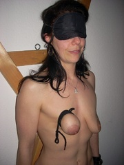 Bdsm xxx. Naughty housewife gets bound - Unique Bondage - Pic 5