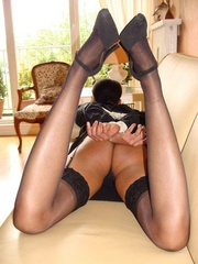 Bondage sex. Busty girl gets bound and then - Unique Bondage - Pic 10