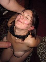 Bdsm girls. House wife tied blowjob. - Unique Bondage - Pic 8
