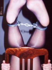 Bondage porn. Girlfriend gets caned until - Unique Bondage - Pic 1