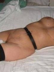 Bondage porn. Girlfriend gets caned until - Unique Bondage - Pic 6