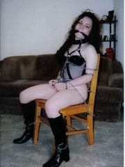 Bondage porn. Hotties get roped and bound. - Unique Bondage - Pic 6