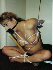 Bondage porn. Hotties get roped and bound. - Unique Bondage - Pic 8
