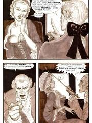 Slave girl comics. Aristocrat using horny girls.