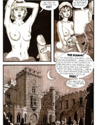 Slave girl comics. Aristocrat using horny girls.