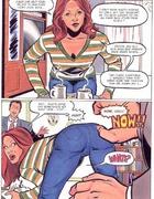 Humiliation comics. Hot mom entertaining the boys.