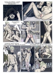 Slave comics. Came to know time in hell.