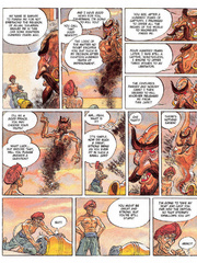 Slave comics. Sodoma in the old Persia.