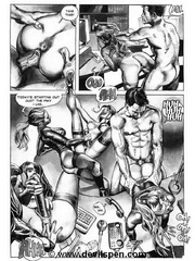 Bdsm comics. Two girls and two cocks.
