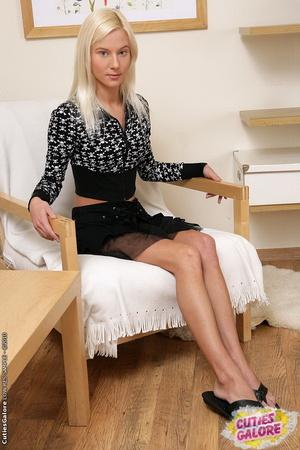skinny blonde anal