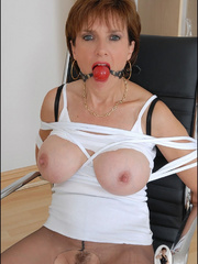 Mature. Lady sonia bondage. - Unique Bondage - Pic 2