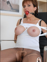 Mature. Lady sonia bondage. - Unique Bondage - Pic 3