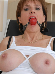 Mature. Lady sonia bondage. - Unique Bondage - Pic 10