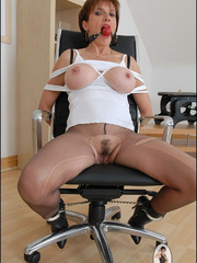 Mature. Lady sonia bondage. - Unique Bondage - Pic 13