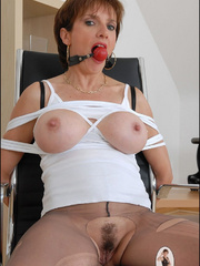 Mature. Lady sonia bondage. - Unique Bondage - Pic 14