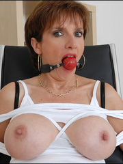 Mature. Lady sonia bondage. - Unique Bondage - Pic 15