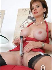 Stocking porn. British milf toys. - Unique Bondage - Pic 2