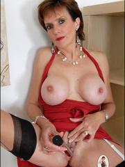 Stocking porn. British milf toys. - Unique Bondage - Pic 4