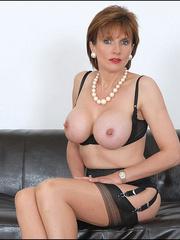 Mature female. Busty leggy milf in nylon. - Unique Bondage - Pic 3