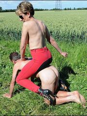 Nylon xxx. Busty riding domme. - Unique Bondage - Pic 3