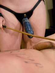 Xxx strap on. Her boss is HER bitch now. - Unique Bondage - Pic 4