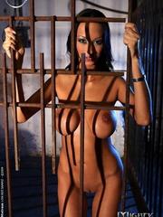 Bondage sex. Big titted pornstar babe - Unique Bondage - Pic 2