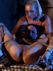 Bondage sex. Big titted pornstar babe - Unique Bondage - Pic 8
