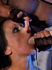 Bondage sex. Big titted pornstar babe - Unique Bondage - Pic 12