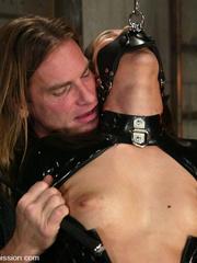 Humiliation. Isis Love endures pain in - Unique Bondage - Pic 3