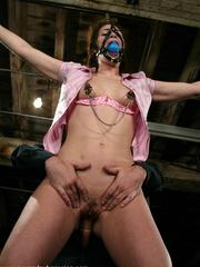 Female humiliation. Submissive Faith endures - Unique Bondage - Pic 9