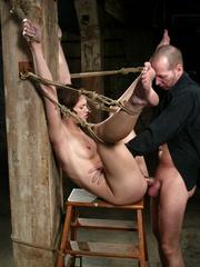Female humiliation. Submissive Faith endures - Unique Bondage - Pic 13