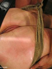 Bdsm. Bobbi Starr is fucked in vulnerable - Unique Bondage - Pic 8