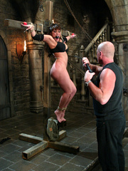 Bdsm sex. Ava Devine is bound and dominated - Unique Bondage - Pic 1