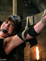 Bdsm sex. Ava Devine is bound and dominated - Unique Bondage - Pic 2