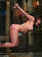 Bdsm sex. Ava Devine is bound and dominated - Unique Bondage - Pic 5