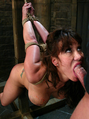 Bdsm sex. Ava Devine is bound and dominated - Unique Bondage - Pic 6