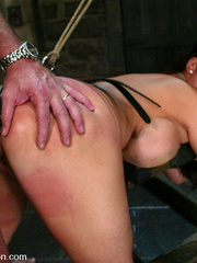 Bdsm sex. Ava Devine is bound and dominated - Unique Bondage - Pic 10