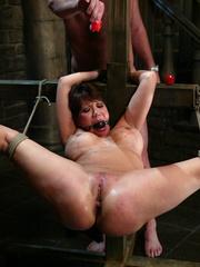 Bdsm sex. Ava Devine is bound and dominated - Unique Bondage - Pic 13