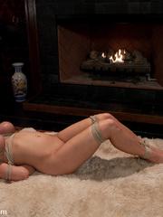 Rough sex. Busty beauty Alanah Rae, a sex - Unique Bondage - Pic 9