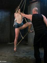 Bondage. Girl in creative bondage and - Unique Bondage - Pic 4