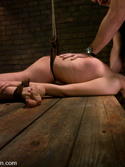 Bondage. Girl in creative bondage and - Unique Bondage - Pic 5