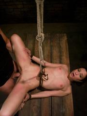 Bondage. Girl in creative bondage and - Unique Bondage - Pic 6