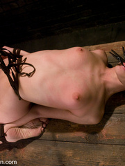 Bondage. Girl in creative bondage and - Unique Bondage - Pic 7