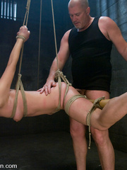 Bondage. Girl in creative bondage and - Unique Bondage - Pic 11