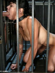 Rough hard sex. Dana is fucked in the ass - Unique Bondage - Pic 6