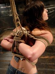 Female humiliation. Bobbi Starr, bondage and - Unique Bondage - Pic 2