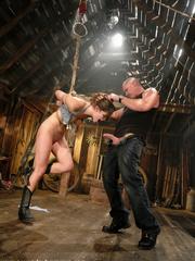 Female humiliation. Bobbi Starr, bondage and - Unique Bondage - Pic 4