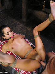 Roughsex. Gorgeous girl in hard fucking and - Unique Bondage - Pic 8