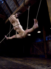 Slaves being fucked hard. Blonde hottie in - Unique Bondage - Pic 7